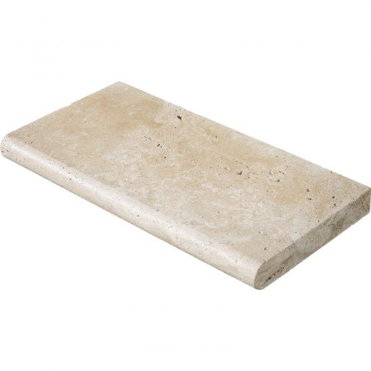 Ivory Travertine Pool Coping(Bullnose)