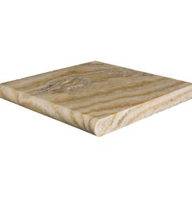 Scabos Travertine Pool Coping (Bullnose)